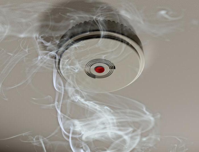 kako spojiti detektor dima